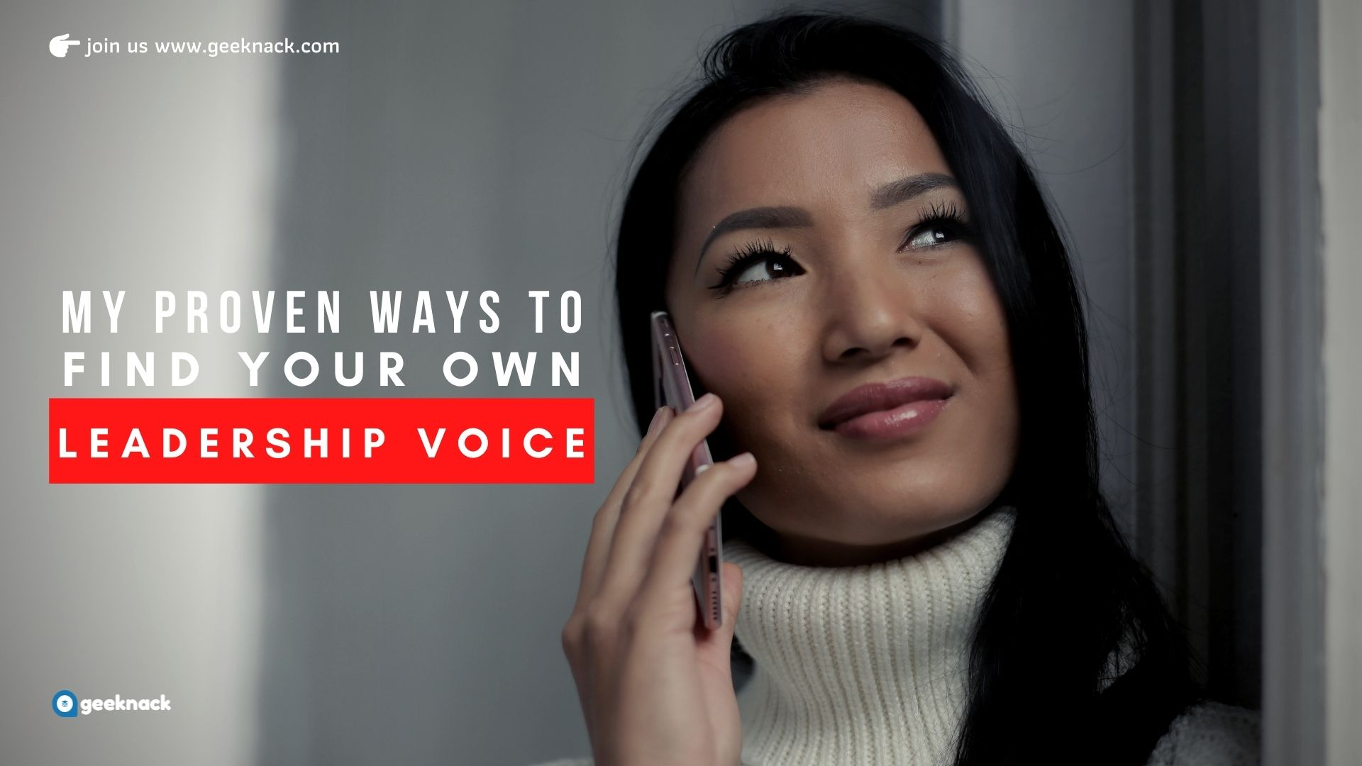 My Proven Ways To Find Your Own Leadership Voice cover