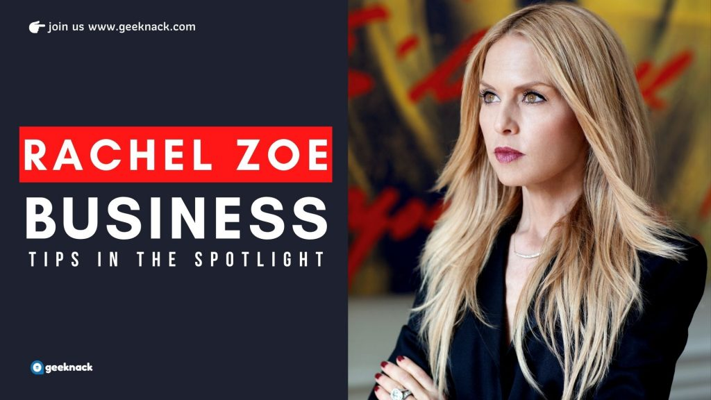 Rachel Zoe Business Tips In The Spotlight cover