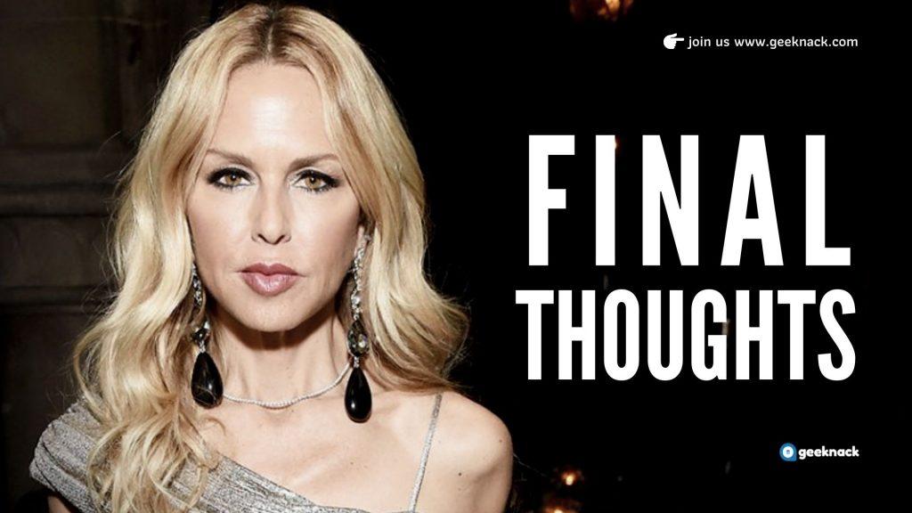 Rachel Zoe - Business Tips In The Spotlight Final Thoughts