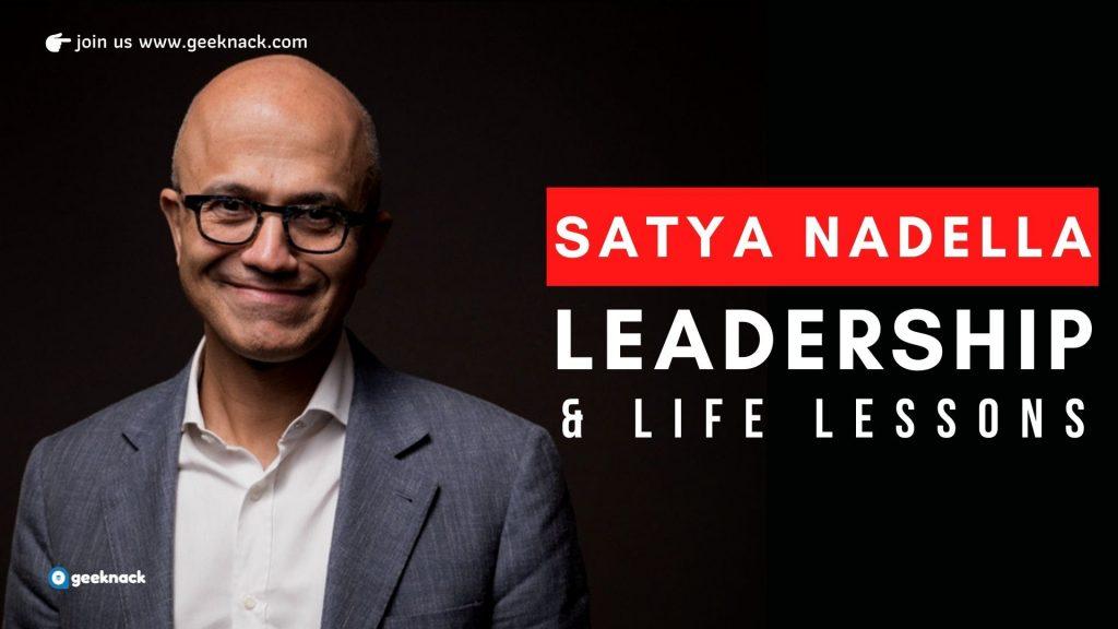 Satya Nadella - Leadership & Life Lessons