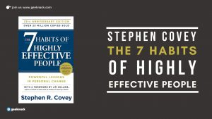 Stephen Covey - 7 Habits Of Highly Effective People cover
