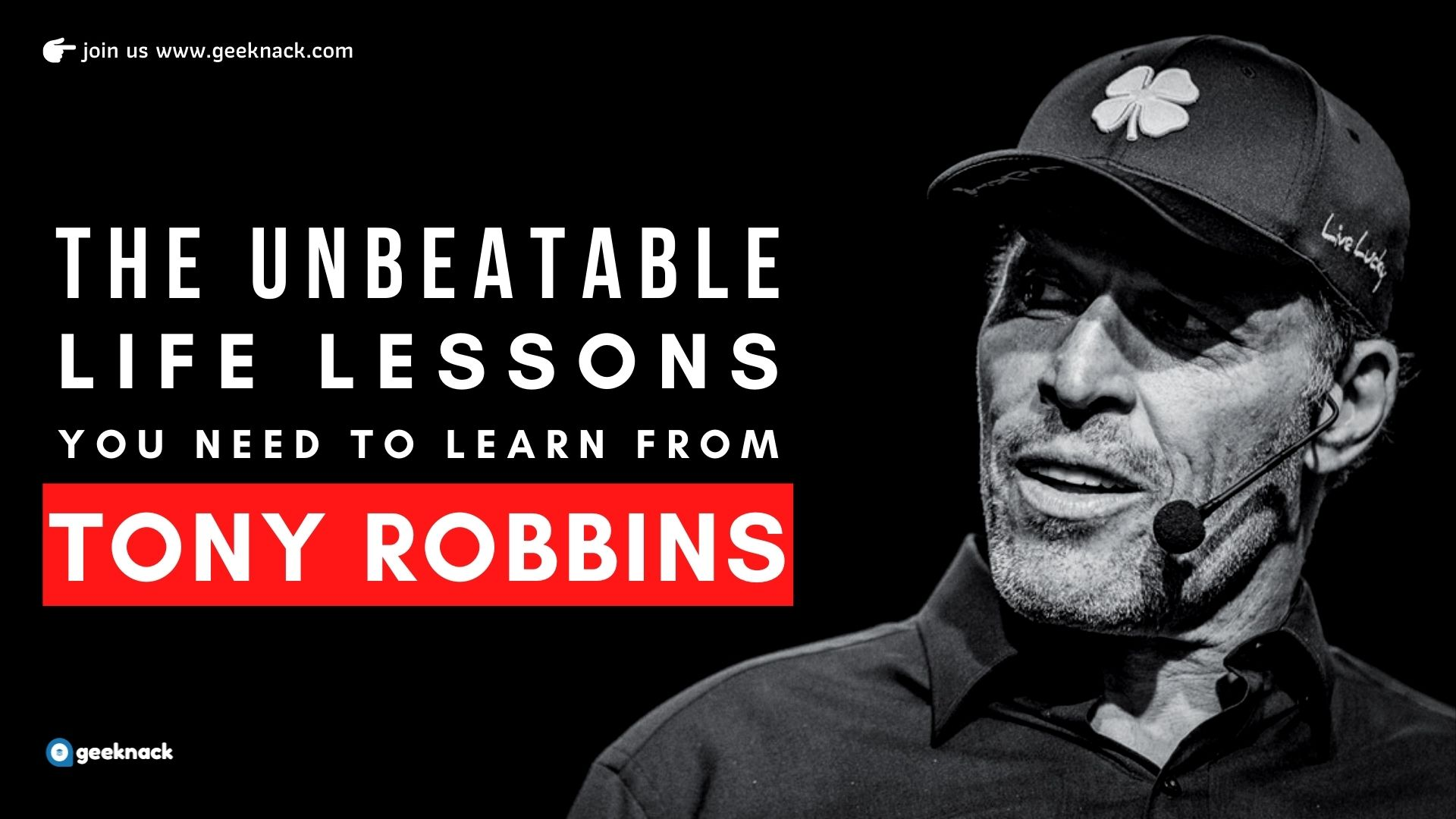 The Unbeatable Life Lessons You Need To Learn From Tony Robbins