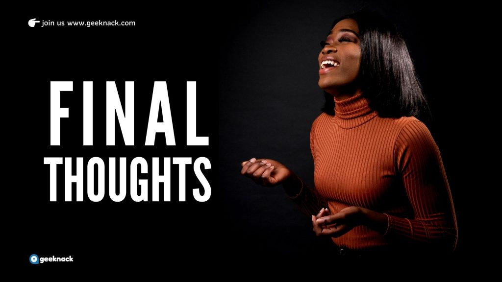 My Golden Habits That Will Improve Your Life Drastically - Final Thoughts