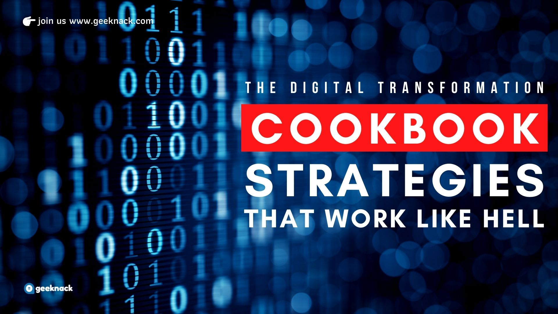 The Digital Transformation Cookbook Strategies That Work Like Hell