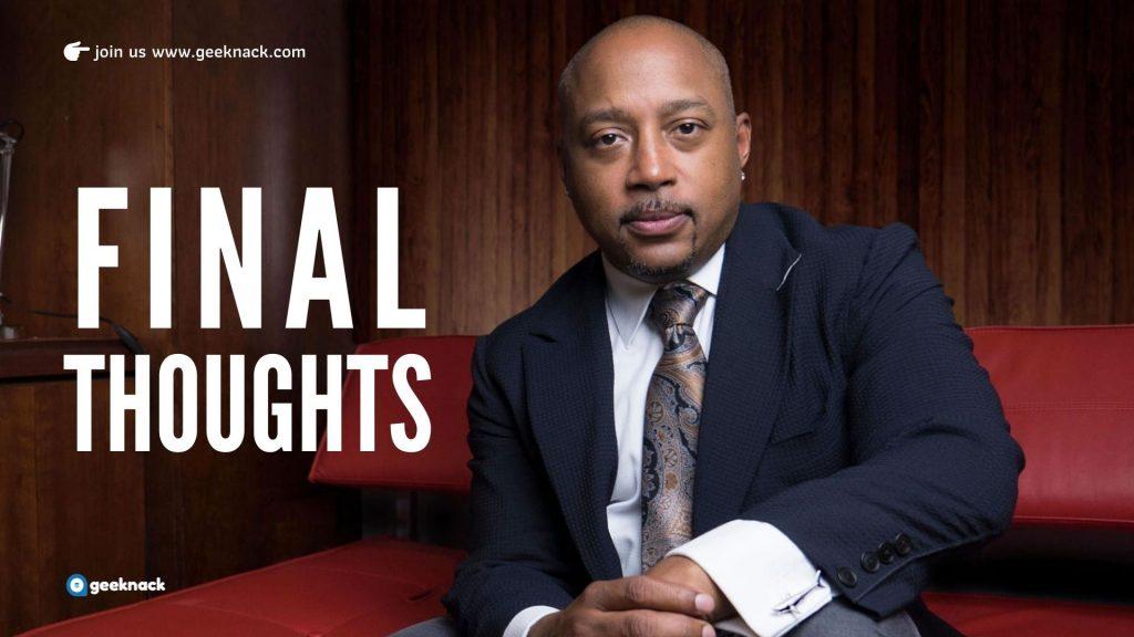 Daymond John - Business & Life Lessons FUBU Final Thoughts