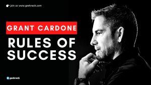 Grant Cardone Rules of Success