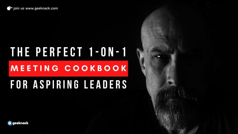 The Perfect One-on-One Meeting Cookbook For Aspiring Leaders