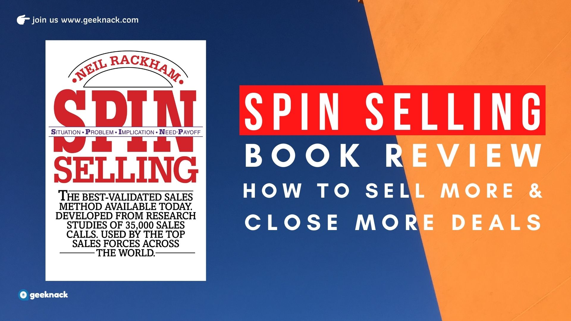 SPIN Selling Book Review How to Sell More & Close More Deals