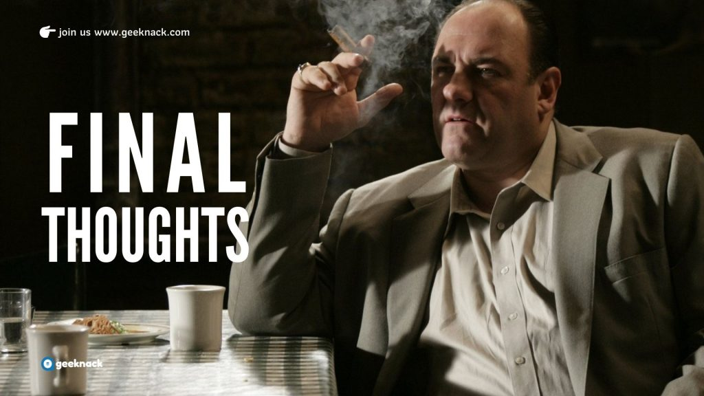 Five Fascinating Leadership Lessons from The Sopranos You Can Use Without Breaking A Sweat Final Thoughts