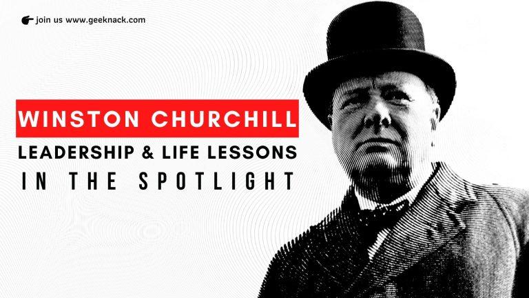 Winston Churchill - Leadership & Life Lessons In The Spotlight
