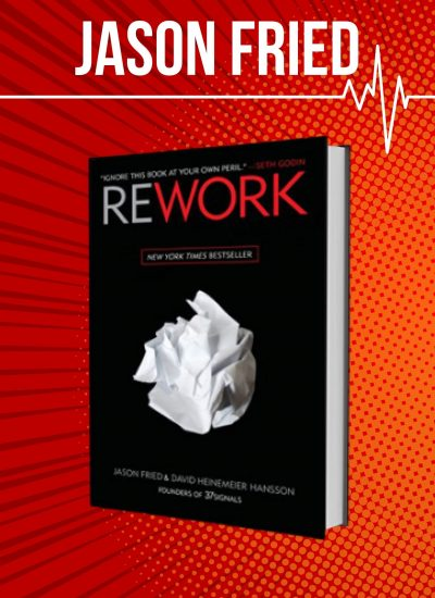 Jason Fried Rework cover