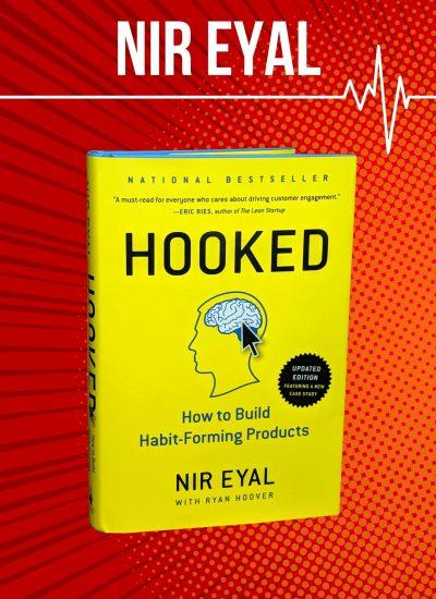 Nir Eyal Hooked cover